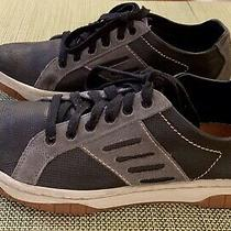 Diesel Mens Leather Sneakers Size 8 Vintage Pre-Owned Excellent Condition Photo