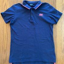 Diesel Men's Polo Shirt Navy With Pink Size Small (Japan Size m) Photo