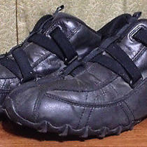 Diesel Men's Size 9.5 Vega Black Leather Casual Walking/running Shoes 280  Photo