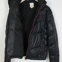 Diesel Men's X Large Down Filled Hidden Hood Puffer Jacket 33141-Gs Photo