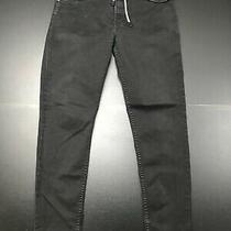 Diesel Mens Designer Regular Slim - Tapered Black Jeans Size 30/32x32 Photo