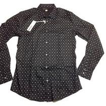 Diesel Mens S-Tapas Shirt Black Size M Photo