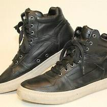 Diesel Mens Size 10 43 Spaark Mid Leather Lace Up Sport Sneaker Shoes Rn93243 Photo