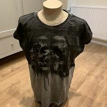 Diesel New Grey/black Top Size M Photo