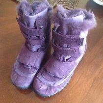 Diesel Purple Shoes Size Us 6  Real Rabbit Fur Inside Photo