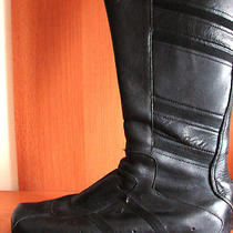 Diesel Rare Unique Mega Cool Biker Motorcycle Real Leather Boots Shoes 39 Us 85 Photo