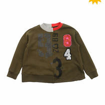 Diesel Reconstructed Sweatshirt Size 8y Sequins Coated Printed Patched Photo