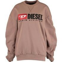 Diesel Rosewood Logo Sweatshirt Uk S Bnwt Womens Sweater Jumper Top New Rrp 120 Photo