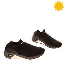 Diesel S-Kb Athl Sock Knitted Low Top Sneakers Eu 43 Uk 9 Us 10 Slip on Logo Photo