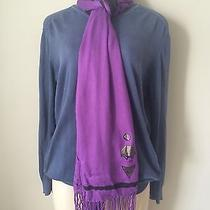 Diesel Scarf Brand New Purple  Authentic Solid Photo