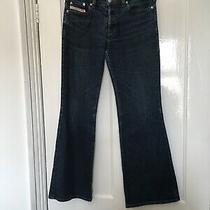 Diesel Size 28 28w Blue Button Fly Bootcut Jeans. (N14) Photo