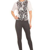 Diesel Size S Women's Skf-Loren Melange Contrast Stitching Stretch Leggings Photo