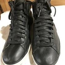 Diesel Sneakers Black Leather Size 7 Photo