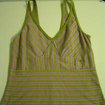 Diesel    Striped  Green & Purple Tank  Photo
