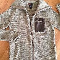 Diesel  Sweater 50% Wool 50% Acrylic and Leather Size Small Photo