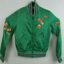 Diesel Vintage Green Natureza Unisex Jacket Zip Up - Size Medium Photo