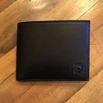 Diesel Wallet Bifold Xs- Black No Box Photo