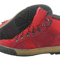 Diesel Wil Y00806-P0118-T4070 Biking Red Cordura Cow Suede Hiking Boot Shoe Men Photo