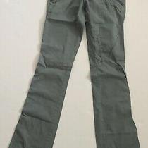 Diesel Womens Cotton Multicolor Pants With Zippers Size 25 Euc Photo