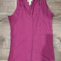 Diesel Women's Dark Pink Tank Top M Photo
