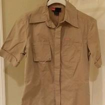 Diesel Women's Medium Tan Shirt Photo