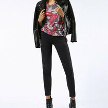 Diesel Women Skinzee-Low 00s54n Skinny Jeans Black Size 25w Photo
