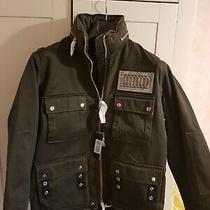 Diesel Womens G-Lee-B Cotton Field Jacket in Green Size Xs  Bnwt  Rrp 489 Photo