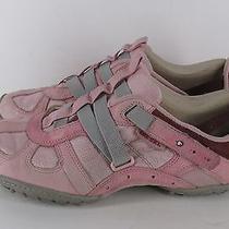 Diesel Womens Sneakers Pink Burgundy Us 10 41 Moslette Photo