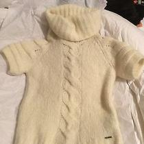 Diesel Wool Sweater Off-White Size Small Photo