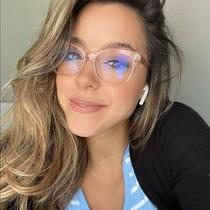Diff Eyewear Carina Blush Blue Light Glasses New in Box Photo