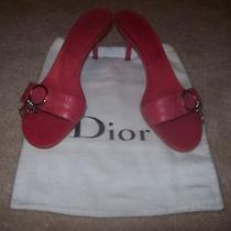 Dior-Authentic-Heels-Fusia-Size-39 1/2-Beautiful Photo