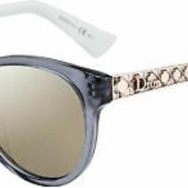 Dior Diorama 7 Women's Sunglasses Pink Blue / Rose Gold Ml Photo