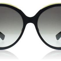 Dior Elle1 Matte Blue Yellow 6mv Sunglasses Photo