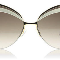 Dior Eyes 1 Rose Gold and Ivory 3fo Sunglasses Photo