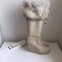 Dior Heeled Snow Size 10 Never Worn Photo
