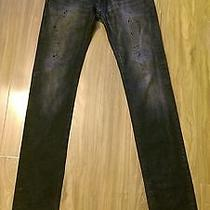 Dior Homme Painted Sky Jeans Sz 29 Photo