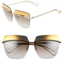 Dior Metallic Sunglasses Rose Gold/brown Metal Photo