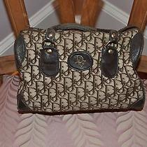 Dior Monogram Brown Handbag Photo