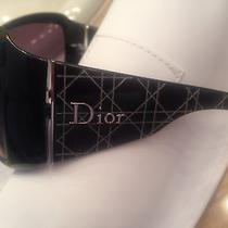 Dior Oversized Beautiful Sunglasses Photo