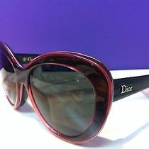 Dior Promesse 1/s 3hm Nr Tran S Pink Black Womens Sunglasses 470 Photo
