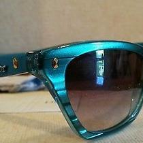 Dior Sunglasses  Made in Italy Hatutaa/s 0w7i Aqua Mother of Pearl 100% Uv Photo