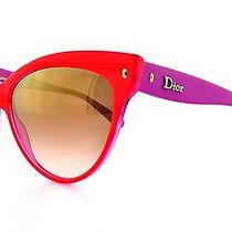 Dior Sunglasses Mohotani/s 0w7c Red Mother of Pearl Fuchsia 58mm Photo