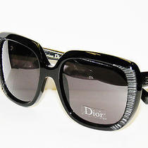 Dior Taffetas 1 648y1 Black   Sunglasses Free Usa S/h Photo