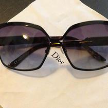 Dior Womens Black Sunglasses   Designer   Like New/never Worn Photo