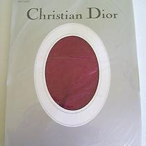 Dior Womens Stockings Panty Hose Claret (Red Wine) Size 1 4533 Control Top  Photo