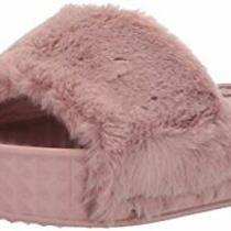 Dirty Laundry by Chinese Laundry Women's Shoes Sonny Blush Faux Fur Size 5.0 O Photo