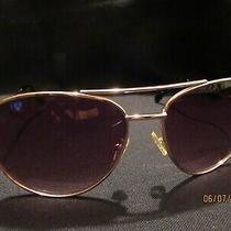Discontinued-Jessica Simpson Sunglasses-J506 Gold/black-Pre-Owned Photo