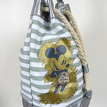 Disney Avon Mickey Mouse Beach Bag Tote With Rope Handles   Photo