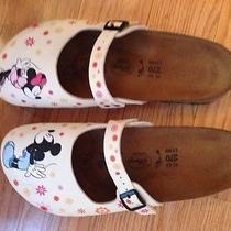 Disney Birki's Birkenstocks Minnie and Mickey Shoes Size 11  Photo