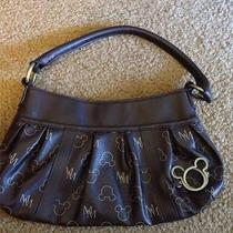Disney Brown Purse With Mickeys Mouse Logo Ladies Photo